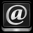 Mail, Metallic icon