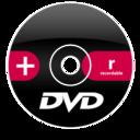Dvd plus r icon