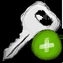 key, add icon