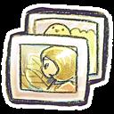 g, Photos icon