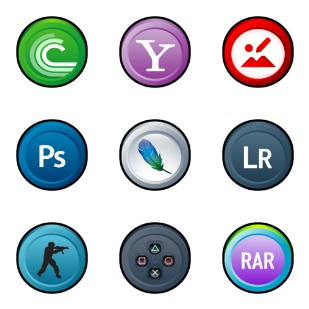 Puck icon sets preview