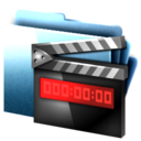 folder,movie icon