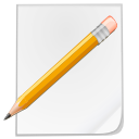 file, pencil, paper, draw, paint, pen, writing, edit, document, write icon