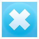 delete, clear, remove icon