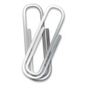 paper clip, office icon