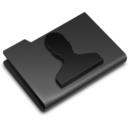 user,black,account icon