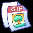 paper, document, file, gif icon