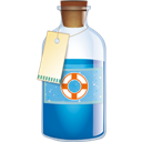 Bottle, Designfloat icon
