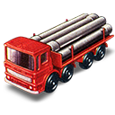 Pipe, Truck icon