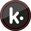 social, logo, kik, media icon