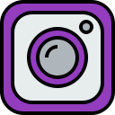 logo, social, media, instagram icon