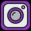 logo, social, media, instagram icon