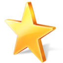 star, bookmark, favorite icon