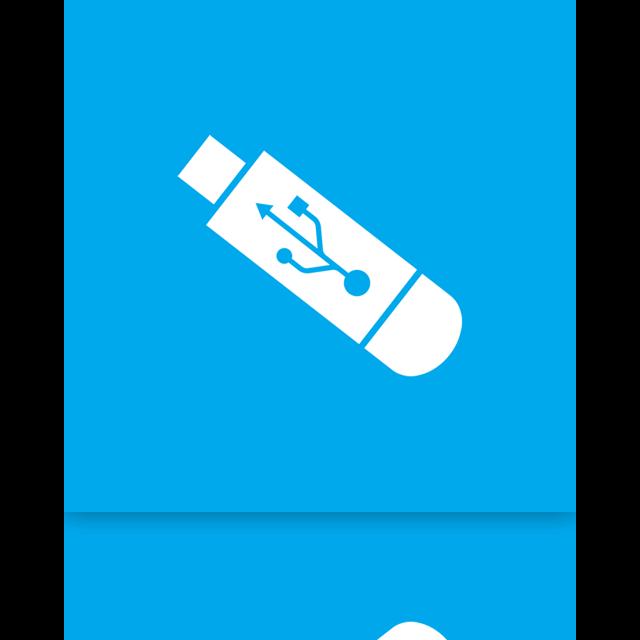 mirror, alt, usb icon
