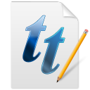 Font TT icon
