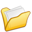 folder,yellow,mydocument icon