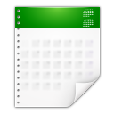 Mimetypes x office calendar icon