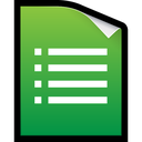 xls, form, google, docs, spreadsheet icon