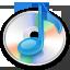 itunes, music, cd icon