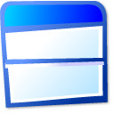 view, top, bottom icon