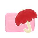 candy, ak, umbrella, folder icon