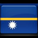 nauru, flag icon