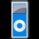 nano, blue, 2g, ipod icon