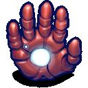 ironman, hand icon