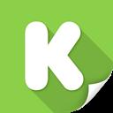 kickstarter, social, profile, people, ubercons, socialpack icon