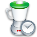 Blend, Clock icon