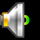Status audio volume low icon