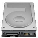 harddrive, disk, storage icon
