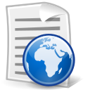 file, document, text, html icon