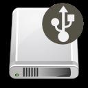 Dev, Gnome, Harddisk, Usb icon