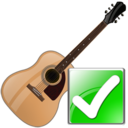 guitar,ok,instrument icon