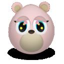 bear, girly icon