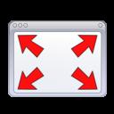 Actions windows fullscreen icon