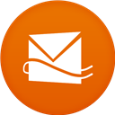 Circle, Flat, Hotmail icon