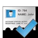 ok, check, profile icon