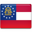 georgia, flag icon