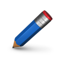 edit, write, pencil icon