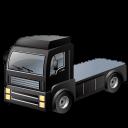 Black, Transportation, Truck icon