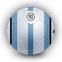 football, aerow, sport, lemonish, soccer, side icon