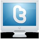 sn, monitor, display, social network, social, twitter, computer, screen icon