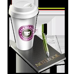 artdesigner, coffee, lv icon