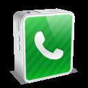white, mini, iphone icon