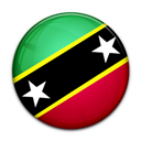 And, Flag, Kitts, Nevis, Of, Saint icon