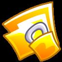 Folder locked icon