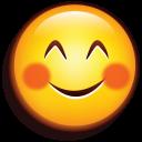 Emoji Blushing icon