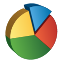pie, chart, graph icon